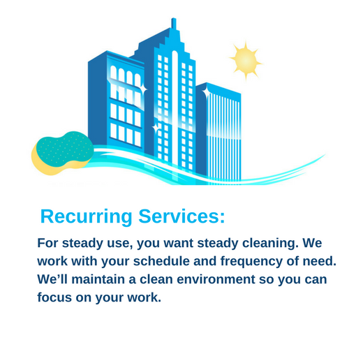 Recurring Services Richmond Cleaning Services
