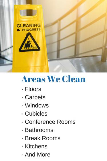 Areas We Clean