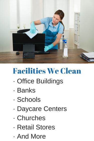 Facilities We Clean