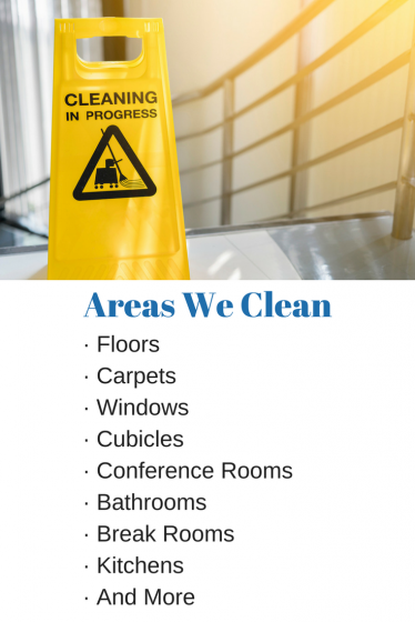 Areas We Clean